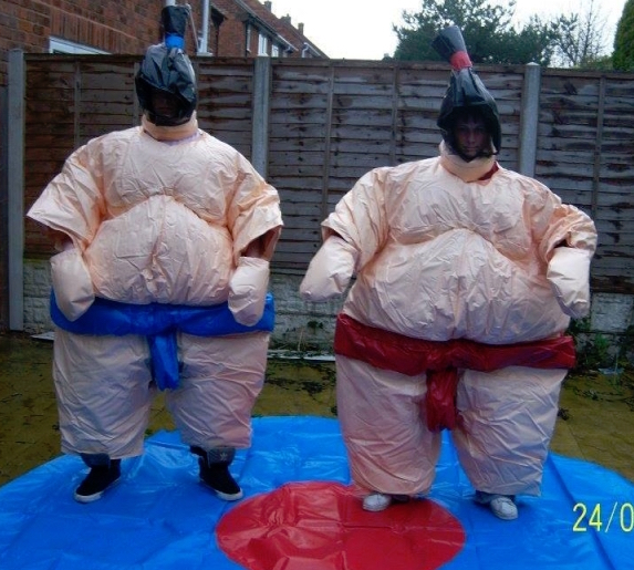 Padded Adult Sumo Suits