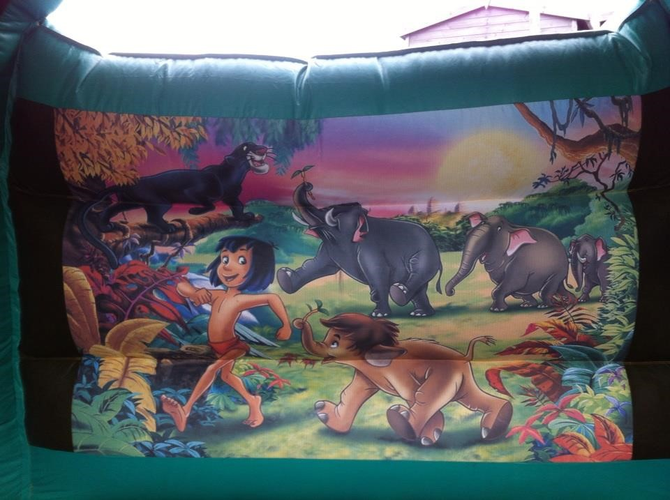 Jungle Bounce Castle 12x12ft