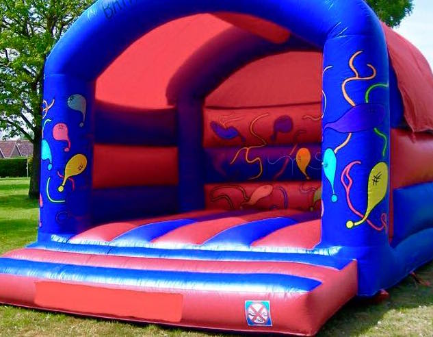 Balloons Large Bouncy Castle
