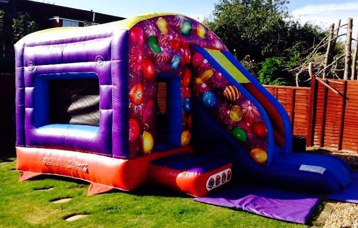 Celebration Castle with Slide 12x18ft