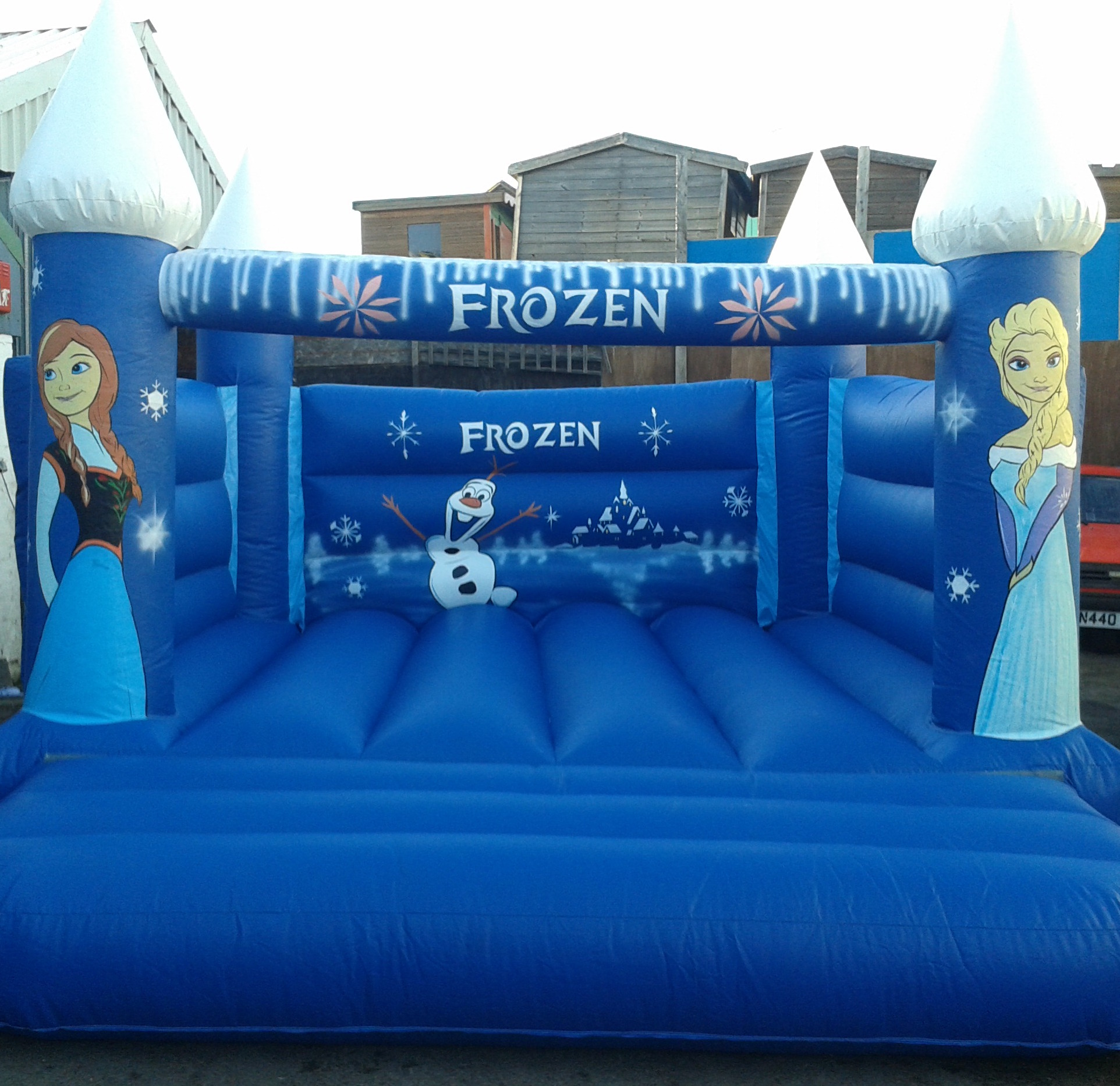 Frozen Bouncy Castle 12x15ft