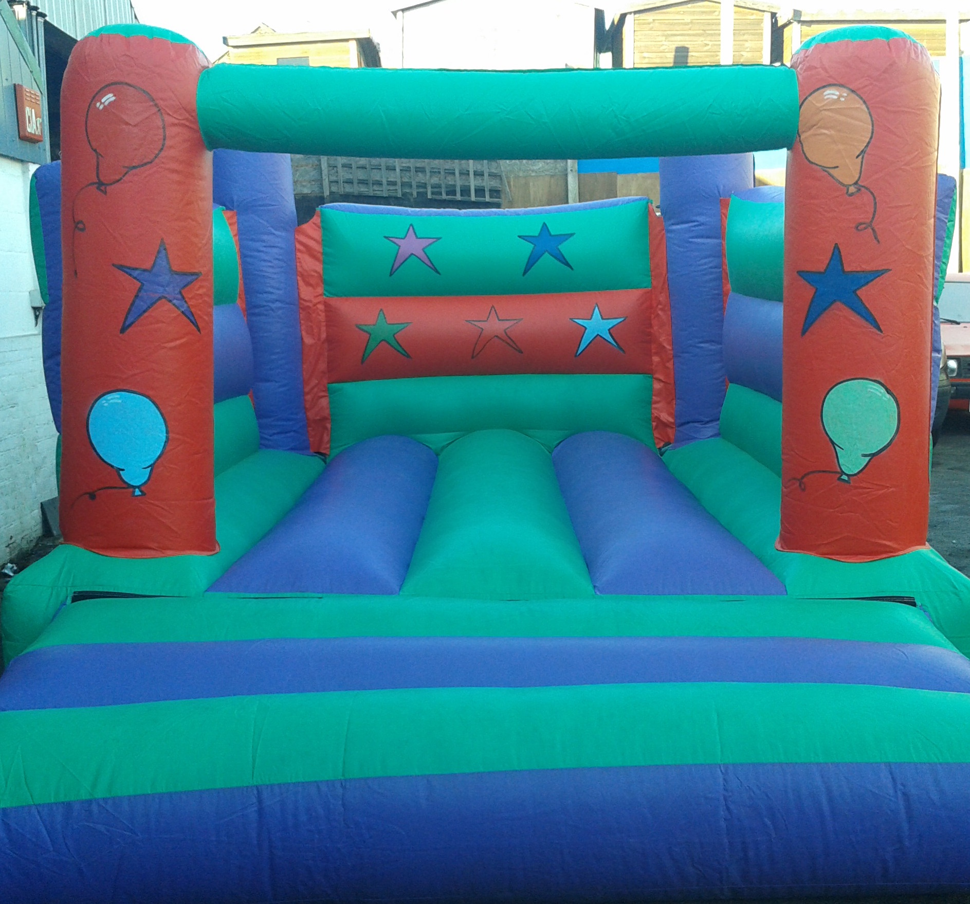 Low Ceiling Bouncy Castle