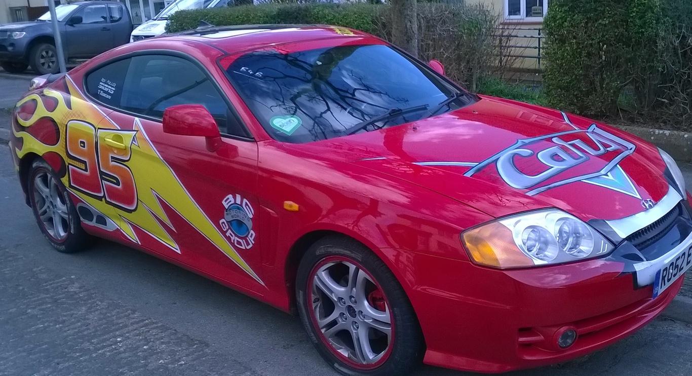 New Race Car