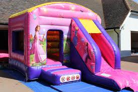 Princess Castle with Slide 12x18ft