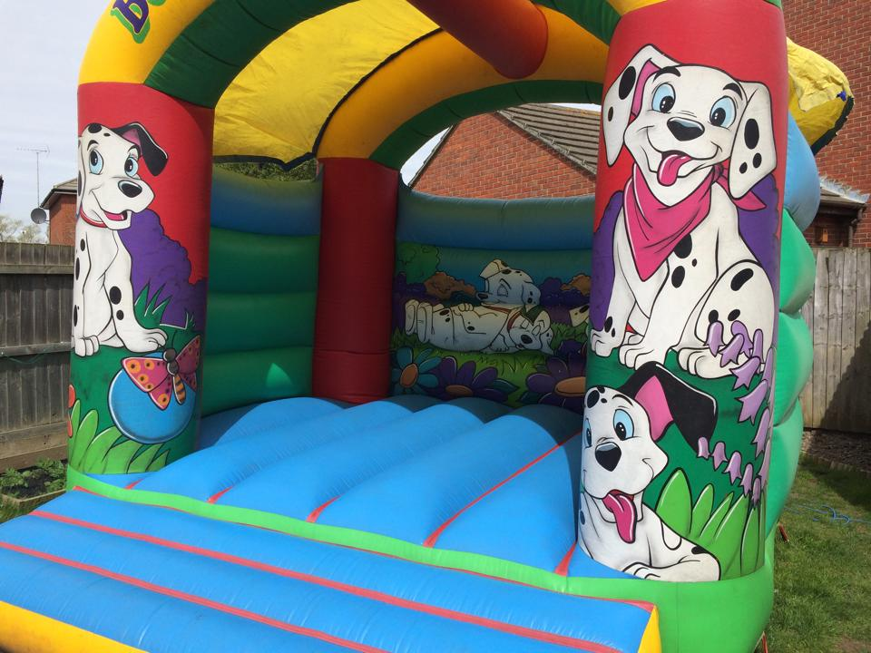 Dalmations Bouncer 12x14ft