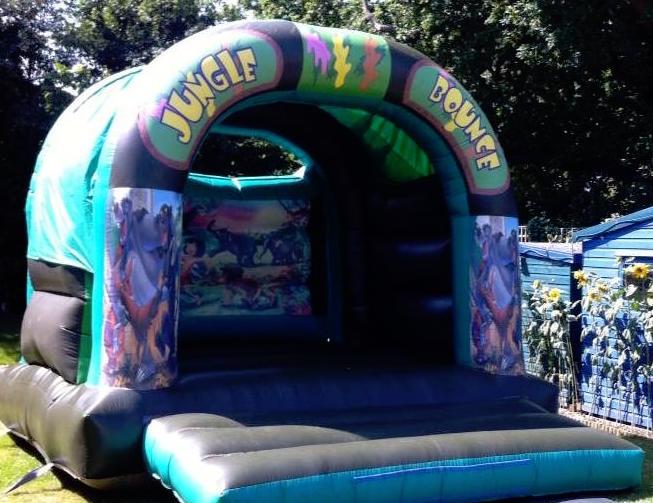 Jungle Bounce Castle 15x15ft